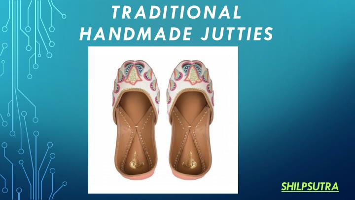 traditional handmade jutties n.