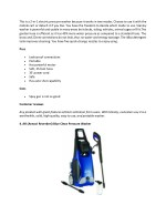 this is a 2 in 1 electric pressure washer because