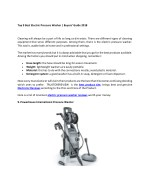 to p 9 best electric pressure washer buyers guide