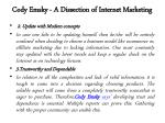 cody emsky a dissection of internet marketing 2