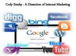 cody emsky a dissection of internet marketing