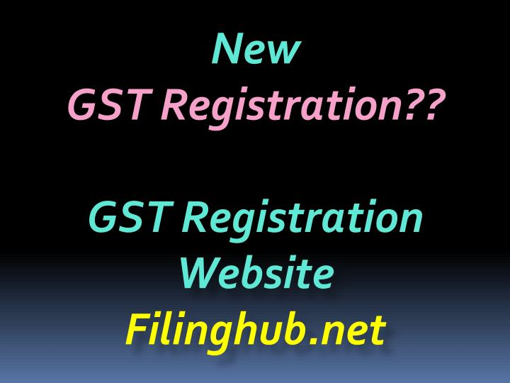 new gst registration gst registration website n.