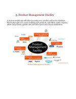 5 product management facility