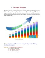 6 increase revenue