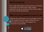 world gratitude