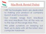 macbook rental dubai