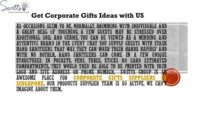get corporate gifts ideas with us n.
