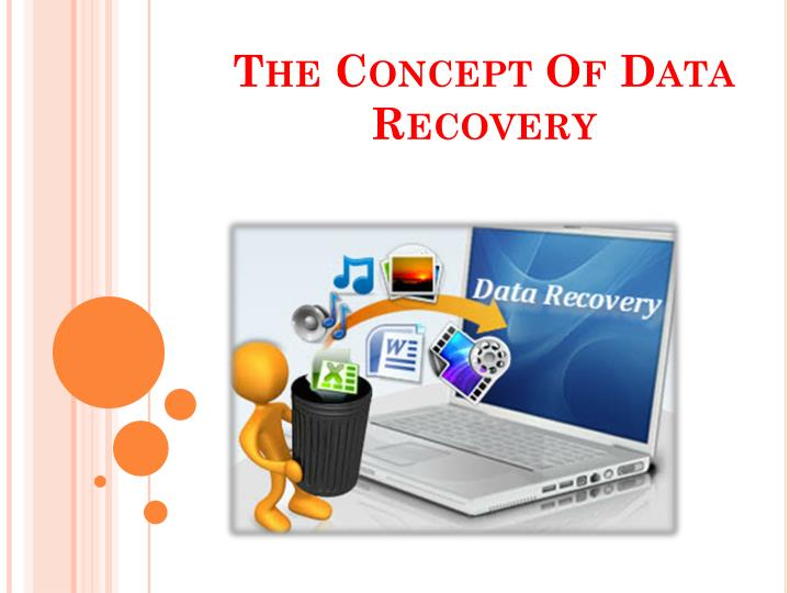 the concept of data recovery n.