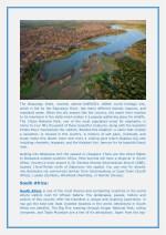 the okavango delta recently named unesco s 1000th
