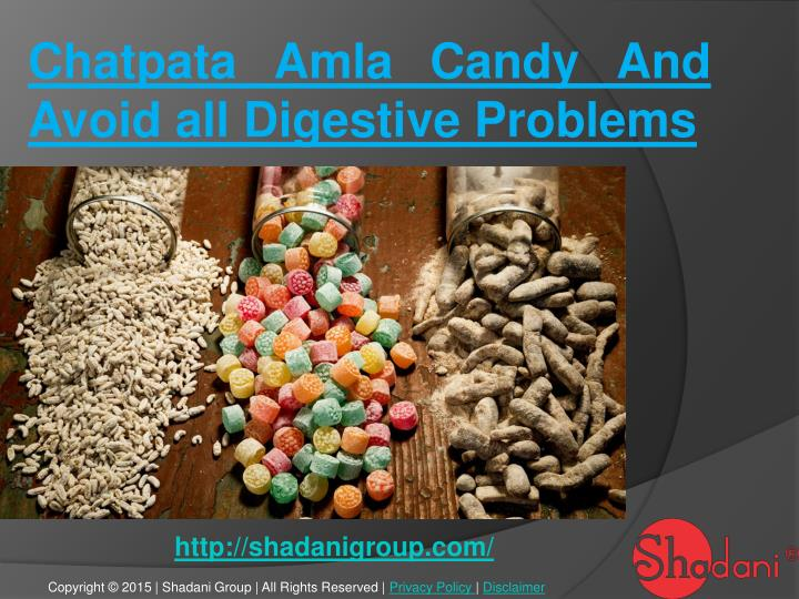 chatpata amla candy and avoid all digestive n.