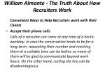 william almonte the truth about how recruiters work 3