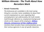 william almonte the truth about how recruiters work 4
