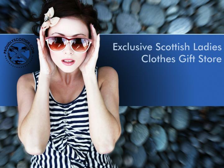 exclusive scottish ladies clothes gift store n.