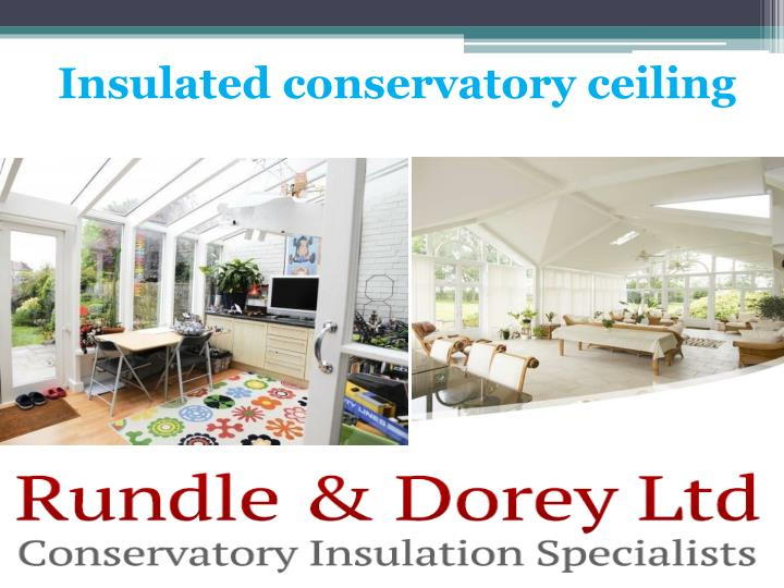 insulated conservatory ceiling n.
