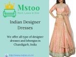 indian designer dresses
