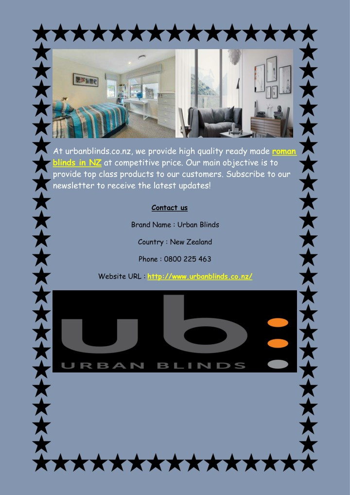 at urbanblinds co nz we provide high quality n.