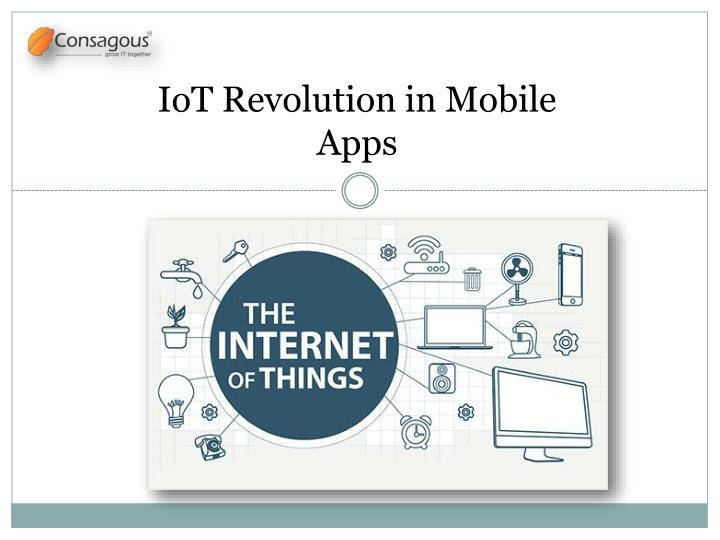 iot revolution in mobile apps n.
