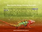 best quality wraps printing australia 1