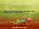 business logo design for your website 1