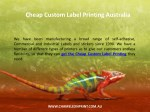 cheap custom label printing australia 1