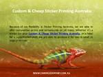 custom cheap sticker printing australia 1
