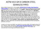astm a53 gr b carbon steel seamless pipes