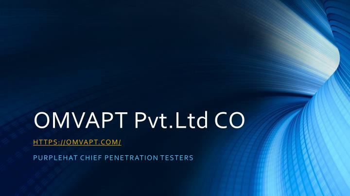 omvapt pvt ltd co n.