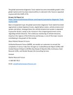 the global automotive diagnostic tools market