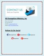 go evangelism ministry inc