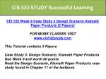 cis 532 study successful learning 8