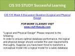 cis 515 study successful learning 18