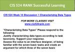 cis 524 rank successful learning 26