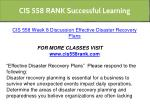 cis 558 rank successful learning 12