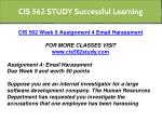 cis 562 study successful learning 2