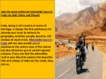 join the most preferred motorbike tours in india