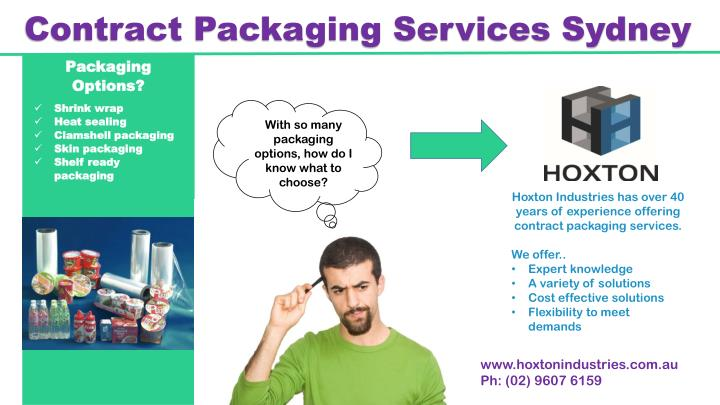 contract packaging services sydney n.