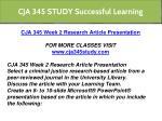 cja 345 study successful learning 2