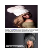 personalizing your fur pompom hat and caps