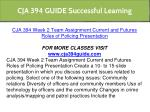 cja 394 guide successful learning 7