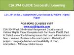 cja 394 guide successful learning 9
