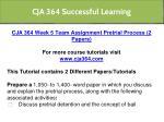 cja 364 successful learning 20