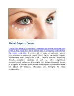 about soyeux cream
