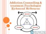 addiction counselling treatment psychologist