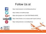 follow us at