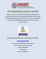 best engineering journal in india