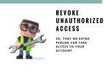 revoke unauthorized access