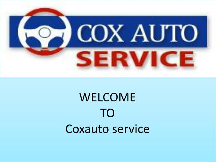 welcome to coxauto service n.