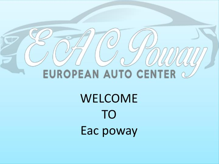 welcome to eac poway n.