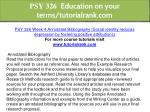 psy 326 education on your terms tutorialrank com 14