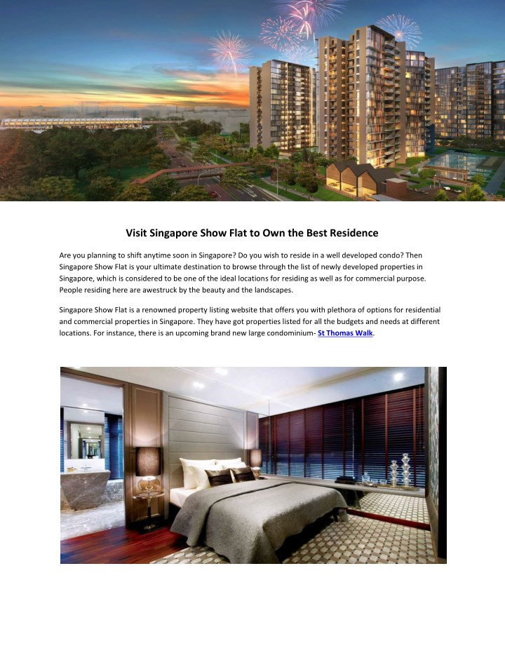 visit singapore show flat to own the best n.
